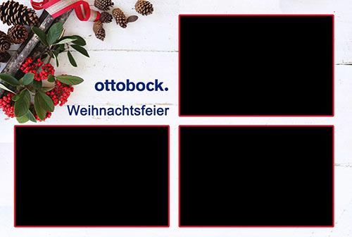 Fotobox Weihnachtsfeier Ottobock